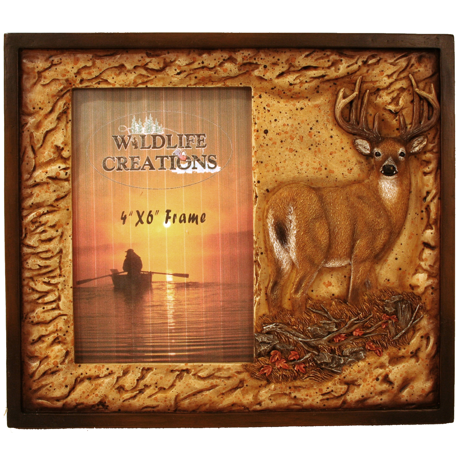 Deer Picture Frame | Wildlife Creations
